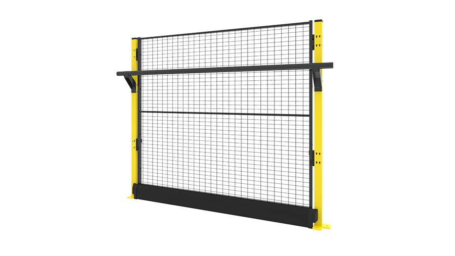 X-Rail 1400 mm with panel